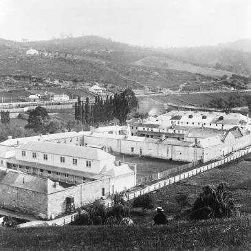 Cascades Asylum Hobart 1890s