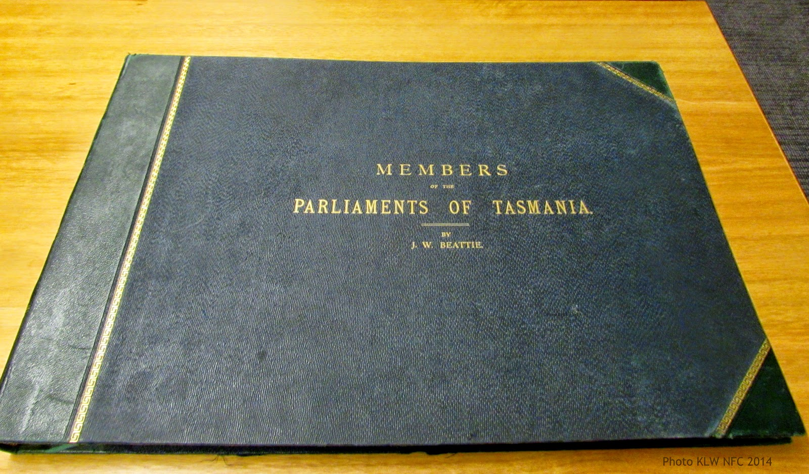 Blame it on Beattie: the Parliamentarians photograph
