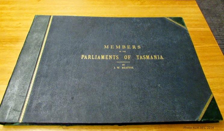 J. W. Beattie Members of Parliament 1900