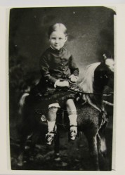 George Nevin, aged 6 yrs, ca. 1886. TAHO. KLW NFC Imprint 2012