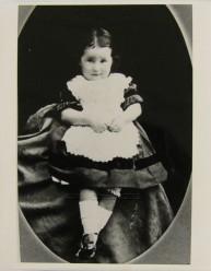 Minnie Nevin aged 2 yrs, 1886. TAHO. KLW NFC Imprint 2012