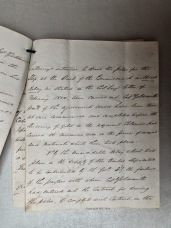 Report on Captain Goldsmith's patent slip by the Director of Public Works, 1855