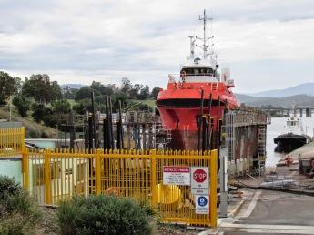 Tasmanian Ports slip yard, Hobart Domain