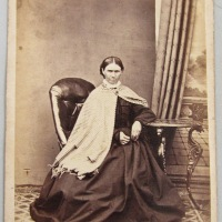 Portraits of older women by Thomas Nevin 1870s