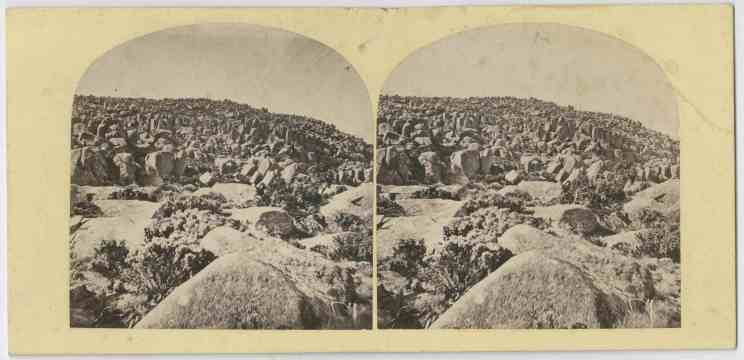 Snow at the Ploughed Field, kunanyi /Mount Wellington 1860s