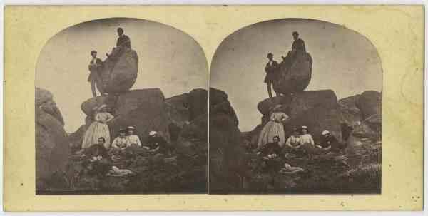 On the Rocking Stone kunyani/Mt Wellington Hobart