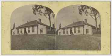 House with bluestone extensions, Kangaroo Valley Tasmania 1868