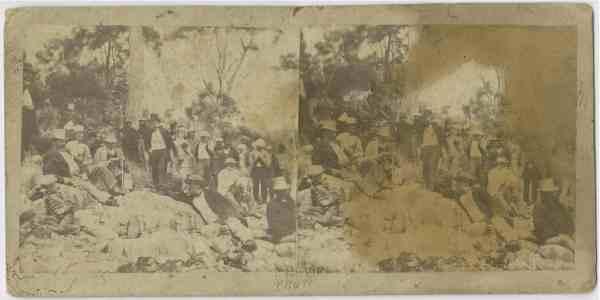 VIPs at Adventure Bay 31 January 1872