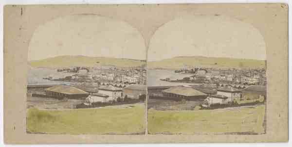The cattleyard and abbatoir, Queen's Domain, Hobart
