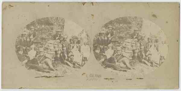 VIP trip to Adventure Bay, Tasmania, January 1872