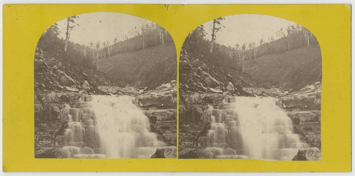 The Glenorchy Landslip 1872