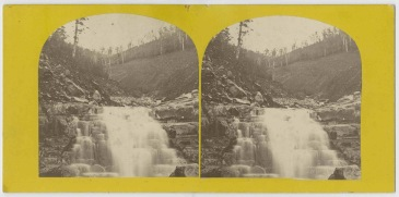 Landslip Glenorchy flood 1872