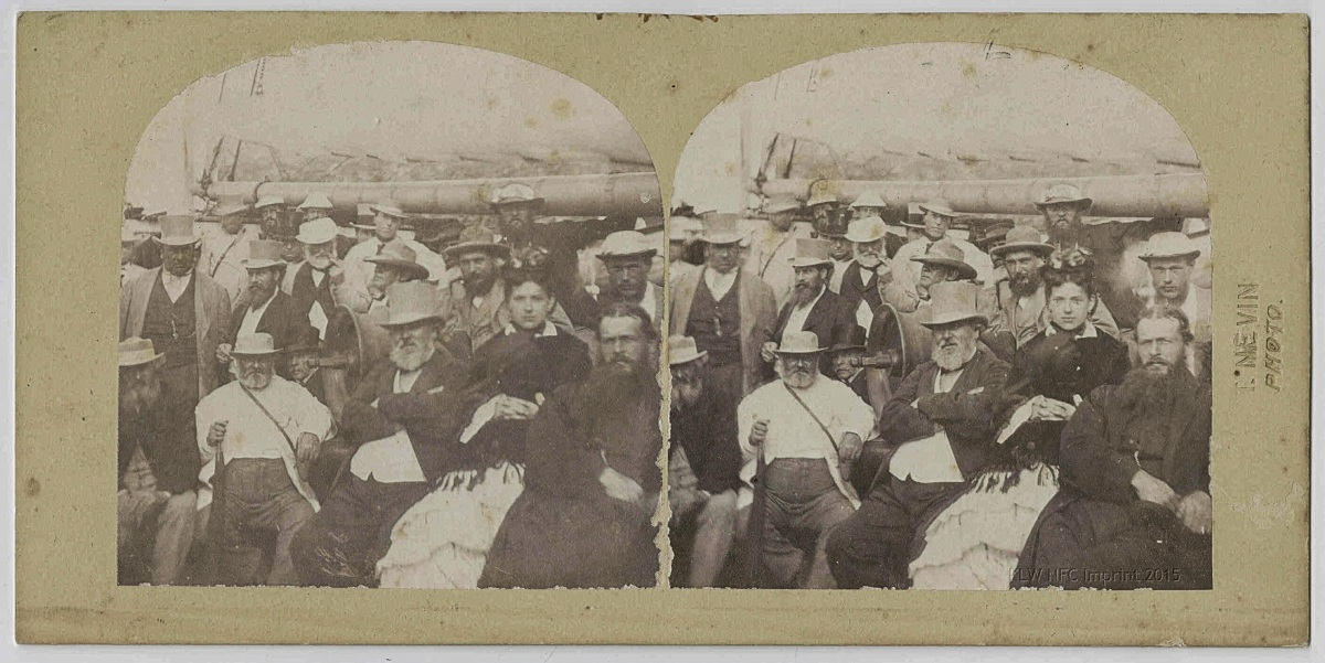 Thomas Nevin's stereographs: TMAG Collection