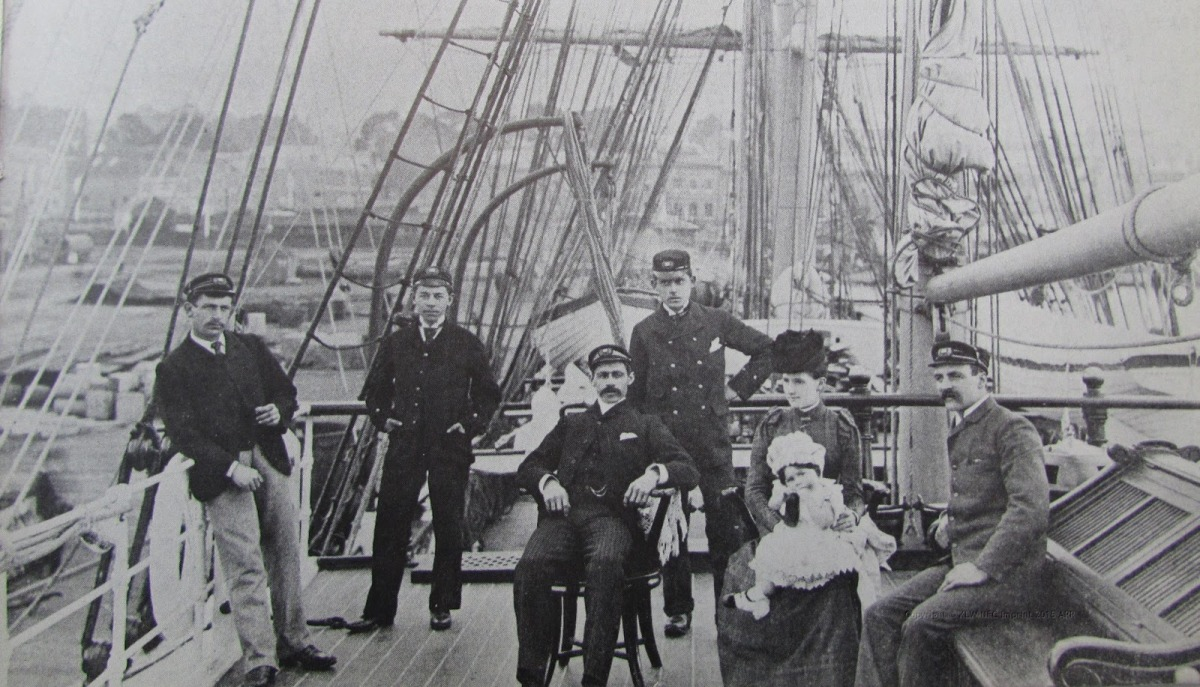 On board the Harriet McGregor 1871-1880