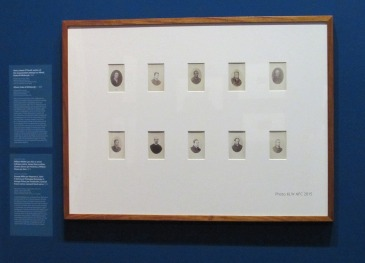 Sideshow Alley, NPG 2015; ten prisoner mugshots by T J Nevin