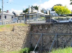 Sloane St. Battery Point Hobart Tasmania former site of patent slip