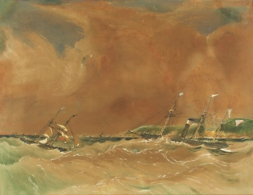 Steamship Tasmania 1854
