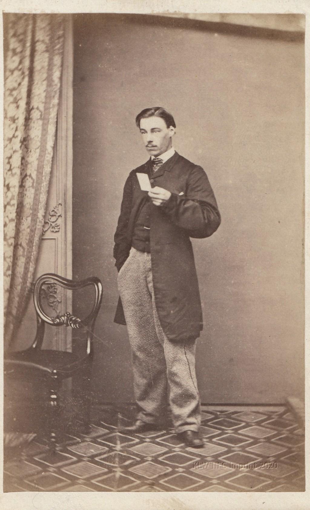 Alfred Mayson 1865 by A. Bock