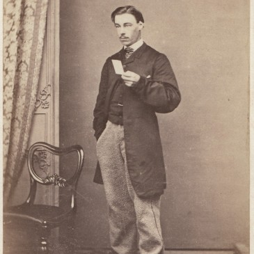 Alfred Mayson 1865 by A. Bock