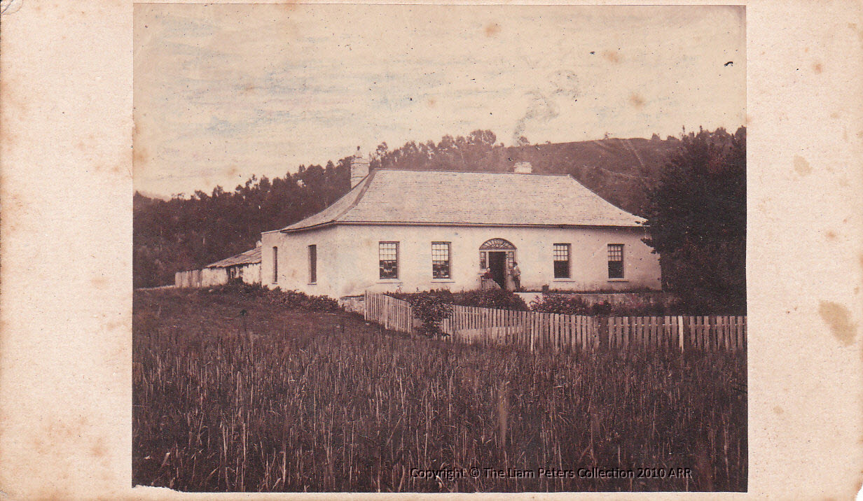 House at Kangaroo Valley photo by T. J. Nevin 1868