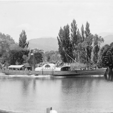The Monarch, River Derwent 1880s