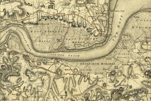 Smith's New Map of London 1830
