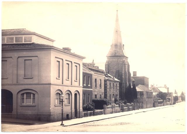 Odd Fellows Hall Hobart Tasmania 1870s