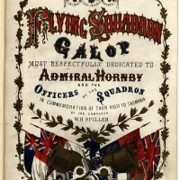 Thomas Nevin, Sam Clifford and the Flying Squadron at Hobart, January 1870