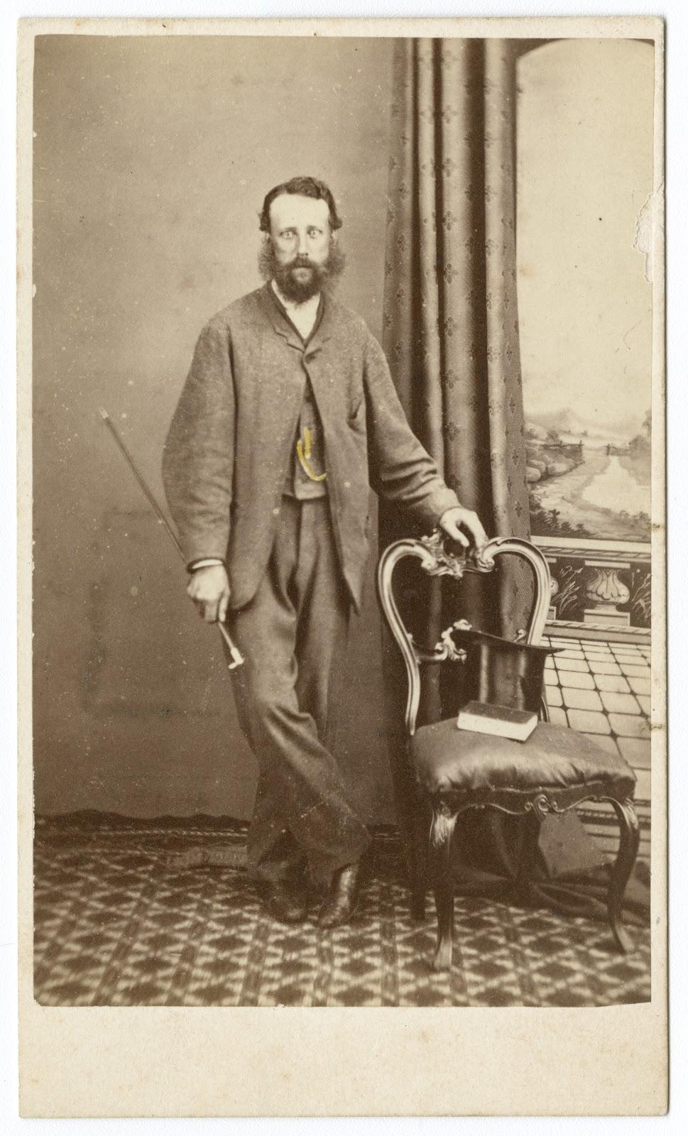 Alfred Barrett Biggs, photo by T. J. Nevin ca. 1874
