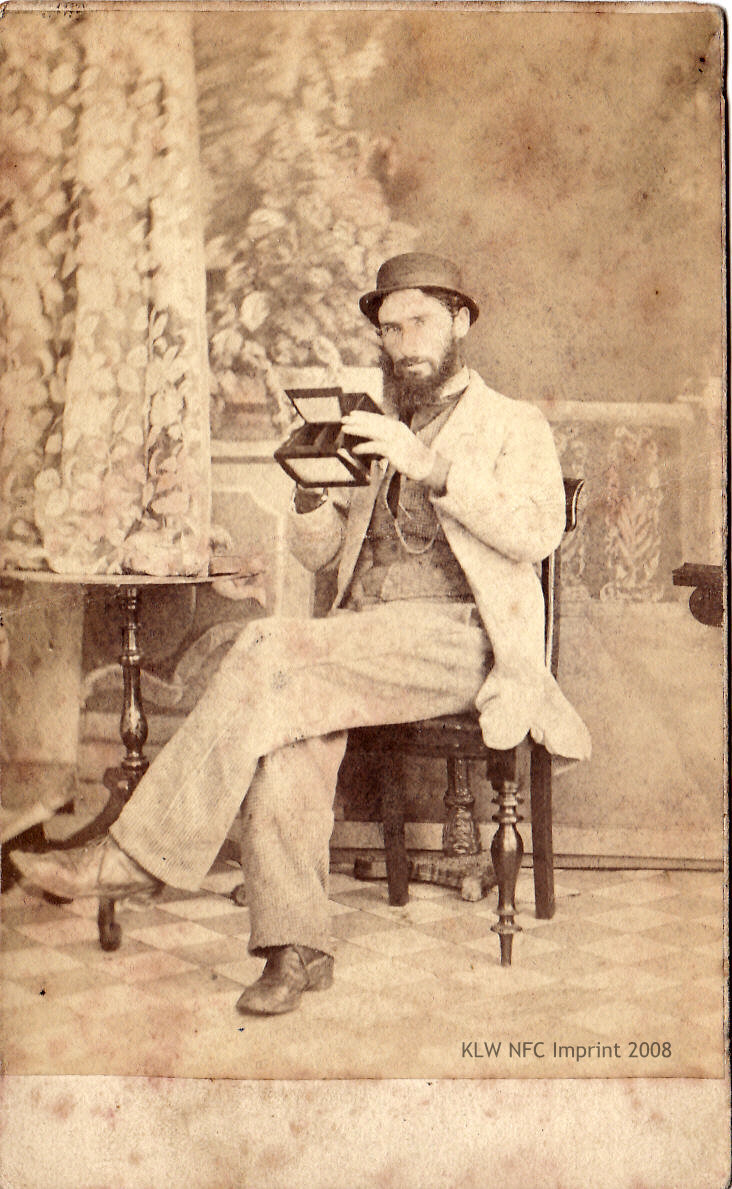 Photographer Thomas J. Nevin 1860s