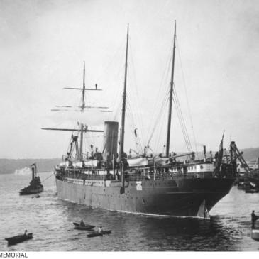 SS Salamis Sydney 1900