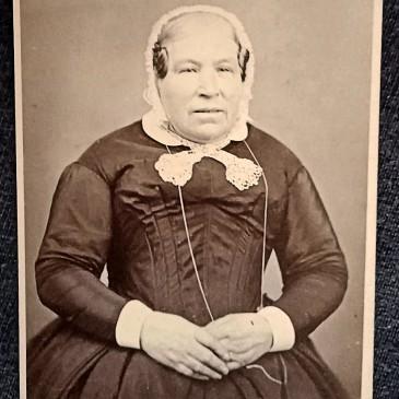 Sarah Crouch cdv by Thomas J Nevin 1871