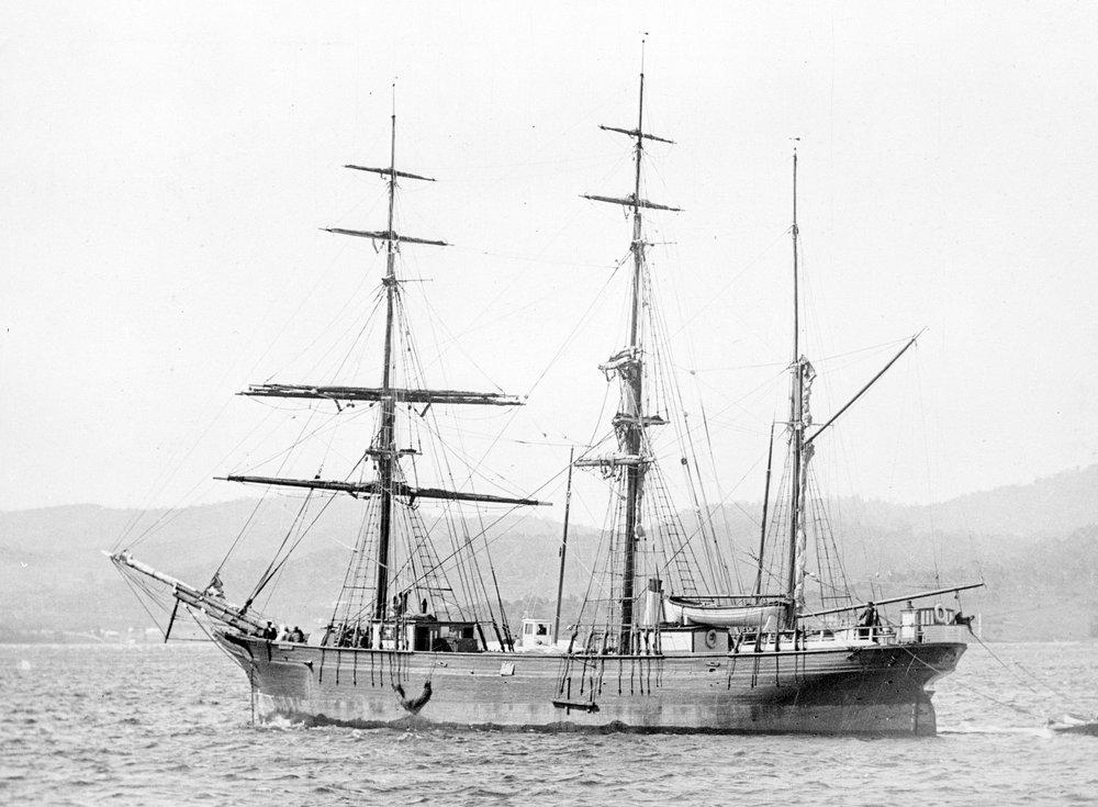 The barque Acacia 1871-1904