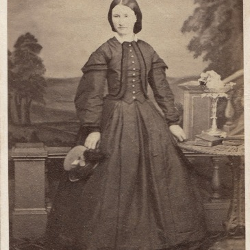 Mary Louisa Bayles 1865, photo by Alfred Bock