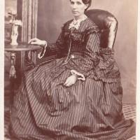 Elizabeth Allport nee Ritchie at Thomas J. Nevin's studio 1876