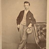 The sweetest young brother: thirteen year old Jack Nevin 1865