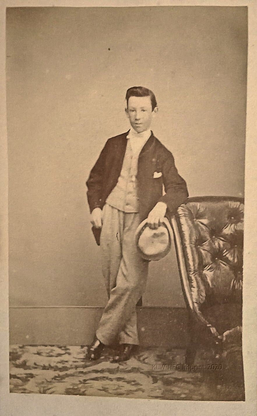 William John aka Jack Nevin 1865