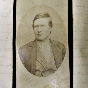 Prisoner Henry Stock 1883 photo by T. J. Nevin