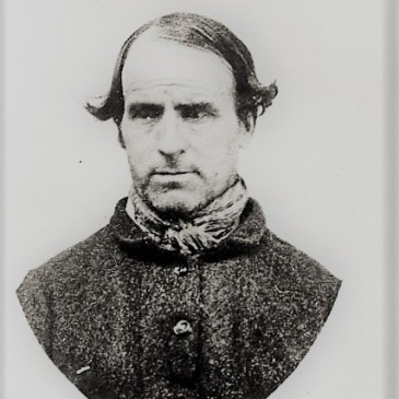 Prisoner John Williams photo by T. J. Nevin 1874