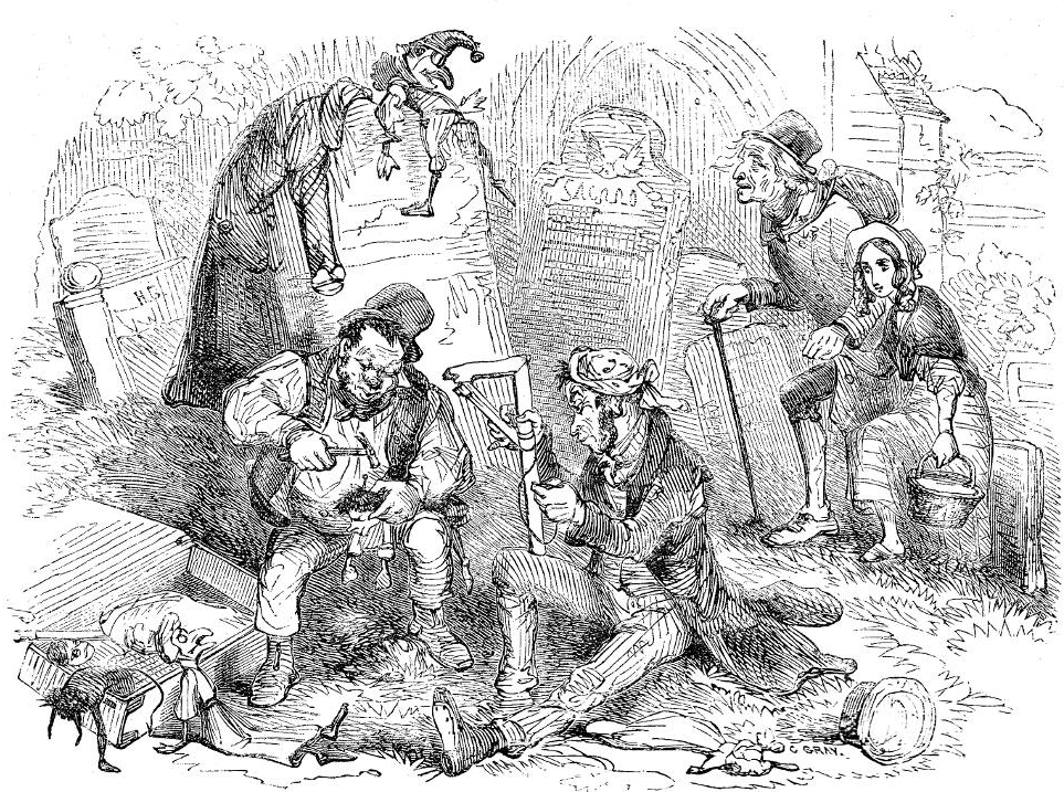 Charles Dickens', The Old Curiosity Shop, Chapter 16