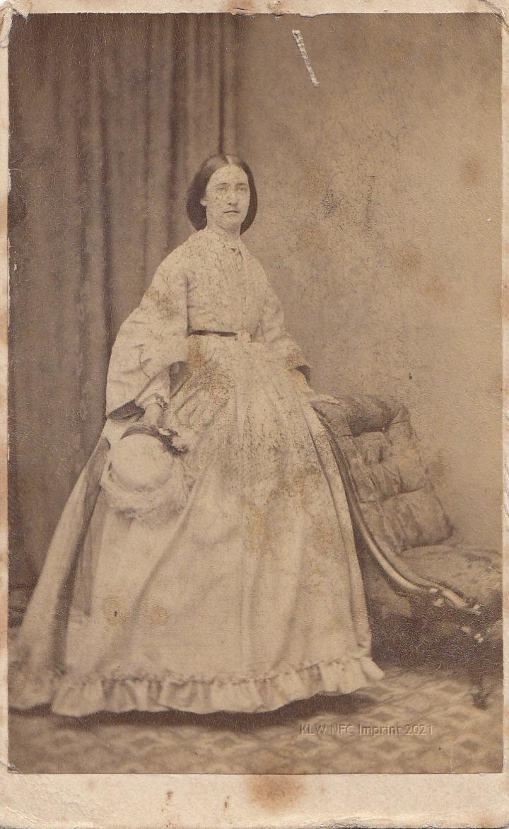Emma Pitt cdv June 1866