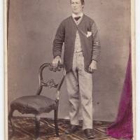 NEVIN & SMITH, 1868: the client with white fingernails