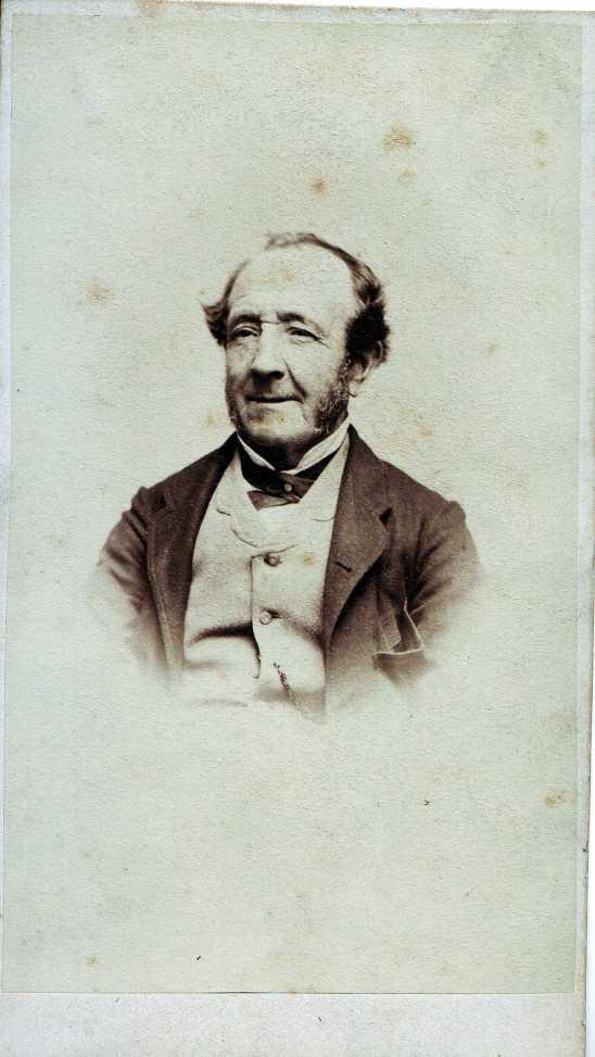 Joseph THOMAS, cdv by T. J. Nevin 1860s